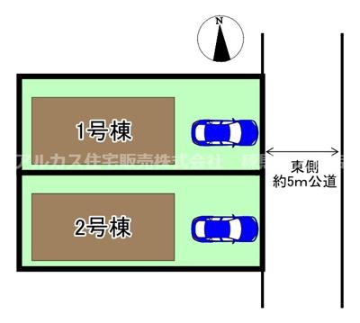 【区画図】西東京市新町5丁目 新築一戸建 中央線 武蔵境