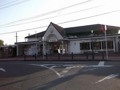 JR中間駅まで2100m
