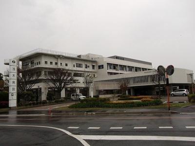 浅木病院まで4000m