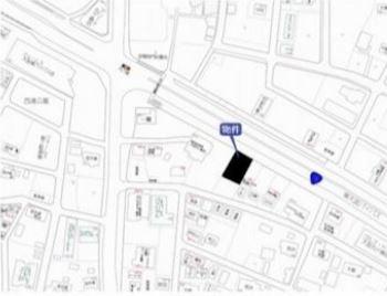 【地図】さいたま市見沼区大字丸ヶ崎 準住居地域 売地