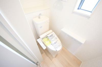 1号棟 トイレもきれいです