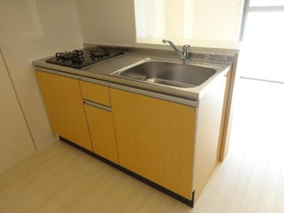 システムキッチン(2口)