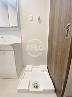 アットリースハウス大国町(事業用) 室内洗濯機置場