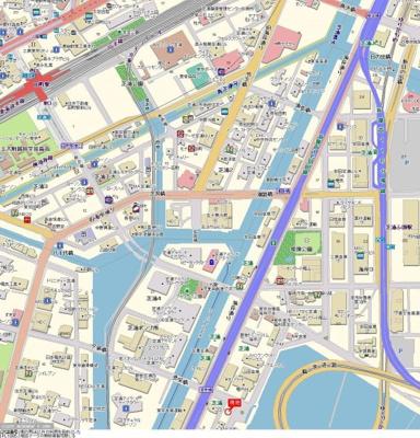 【地図】プレール・ドゥーク東京ベイⅢ