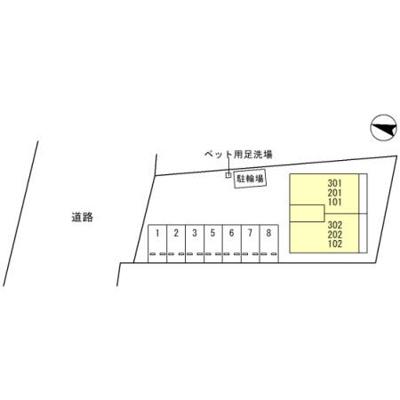 【区画図】コンフォート倉Ⅱ