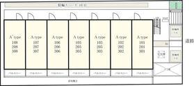 【区画図】リブリ・並木