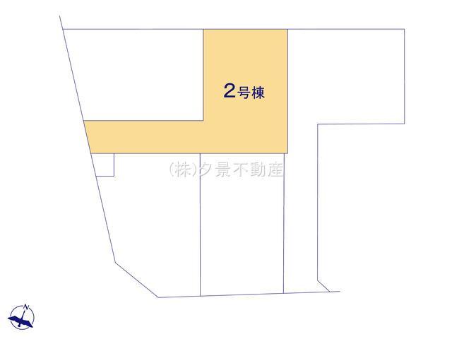 【区画図】さいたま市北区大成町4丁目410-1(2号棟)新築一戸建て