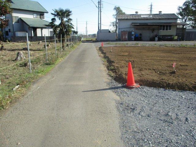 【前面道路含む現地写真】堀町土地 全9区画