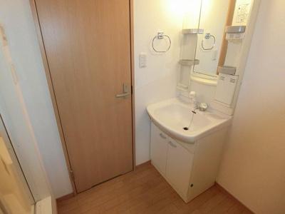 写真は202です シャワー付き洗面台