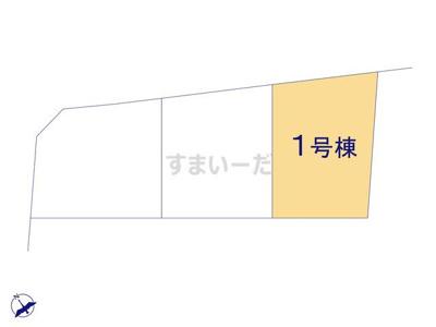 【区画図】クレイドルガーデン犬上郡豊郷町安食南第3