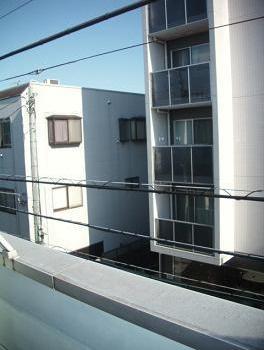 【バルコニー】メゾンAK バストイレ別 南向き 駅徒歩6分