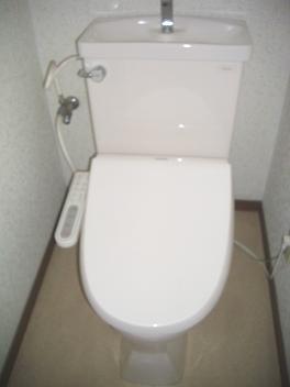【トイレ】メゾンAK バストイレ別 南向き 駅徒歩6分