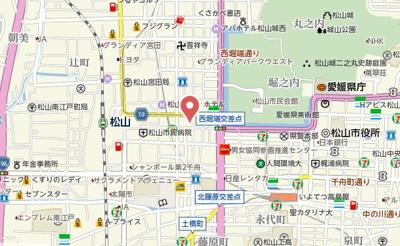 【地図】シャトレー大手町