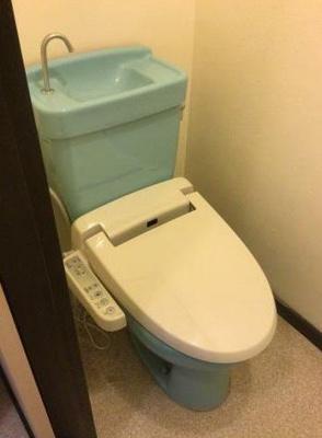 【トイレ】プラムハイツ