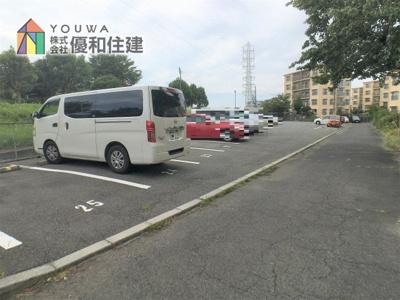 【駐車場】伊川谷住宅 10号棟