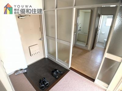 【玄関】伊川谷住宅 10号棟
