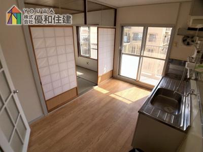【居間・リビング】伊川谷住宅 10号棟