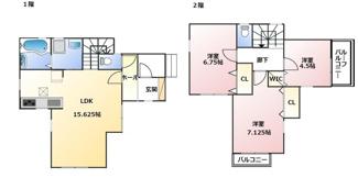 神戸市垂水区千鳥が丘19-1期-3号棟 新築戸建
