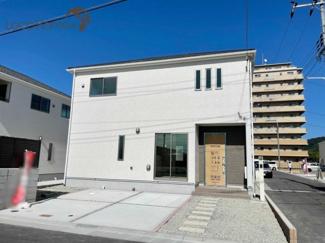 【前面道路含む現地写真】神戸市垂水区青山台第5-18号棟 新築戸建