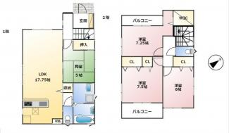 神戸市第7垂水区名谷-4号棟 新築戸建