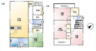 神戸市第7垂水区名谷-5号棟 新築戸建