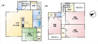 神戸市第7垂水区名谷-2号棟 新築戸建