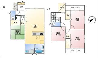 神戸市第7垂水区名谷-3号棟 新築戸建