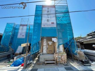 【前面道路含む現地写真】 明石市魚住町長坂寺3期-1号棟 新築戸建