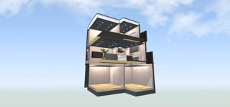 同社施工例 しっかりした広さがあるので、作業がしやすいキッチンです♪