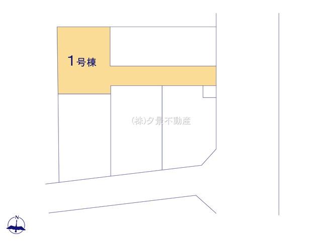 【区画図】さいたま市大宮区大成町2丁目128(1号棟)新築一戸建てケイアイスタイル