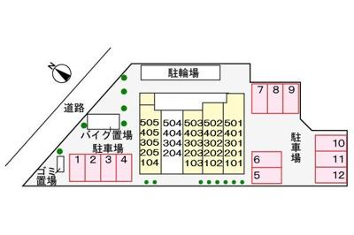 【区画図】サンナップヒルズ SEKI2