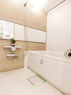 清潔感漂うバスルームはもちろん追炊機能・浴室乾燥機付です