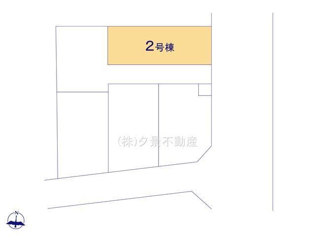 【区画図】さいたま市大宮区大成町2丁目128(2号棟)新築一戸建てケイアイスタイル