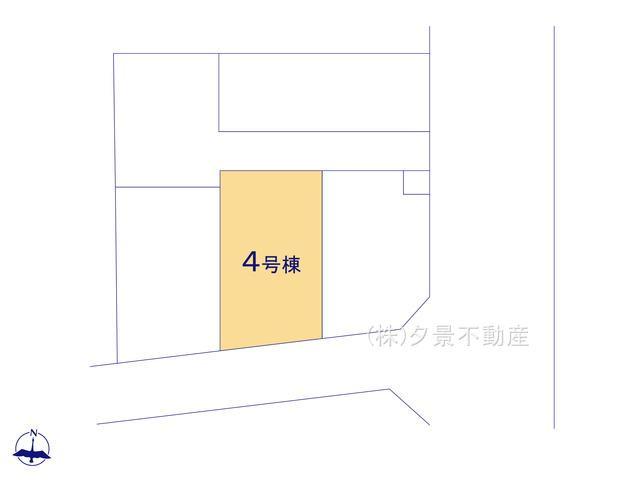 【区画図】さいたま市大宮区大成町2丁目128(4号棟)新築一戸建てケイアイスタイル