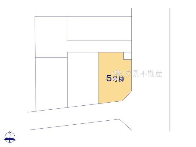 【区画図】さいたま市大宮区大成町2丁目128(5号棟)新築一戸建てケイアイスタイル