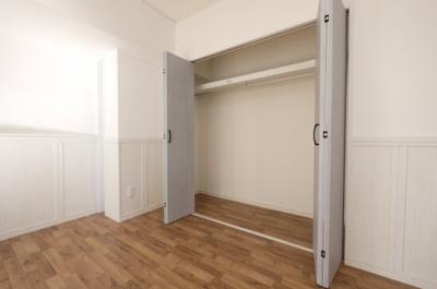 収納は大容量 各居室に収納有