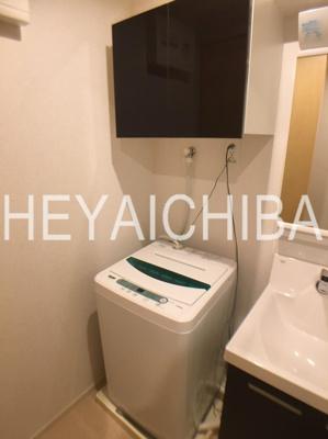 室内洗濯機置場・洗濯機