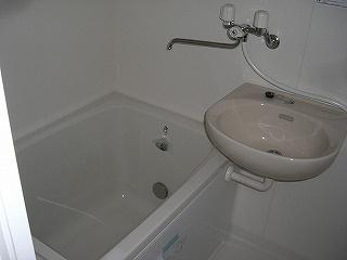 【浴室】ハイツミノル