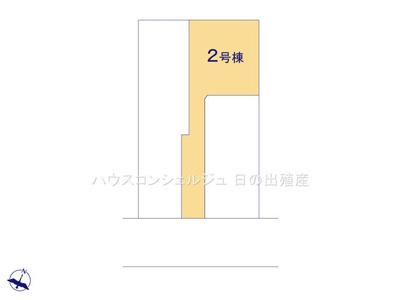 【区画図】名古屋市緑区鴻仏目2丁目113【仲介手数料無料】新築一戸建て 2号棟