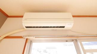 エアコンは2台設置してあります。