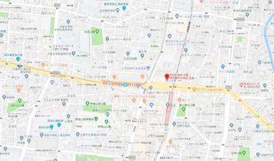 【地図】第一玉造マンション