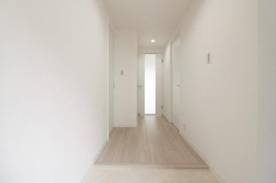 ゆったりとした玄関部分です。