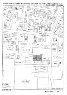 【地図】マルショウモータープール