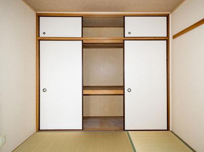 和室の押入と天袋