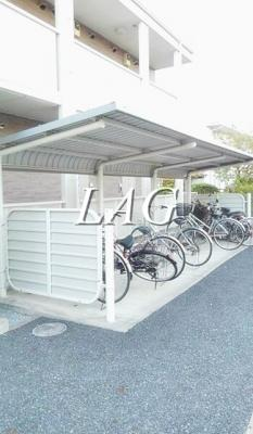 駐輪場になります。
