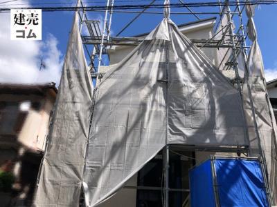 神戸市北区東大池3丁目12期 新築一戸建て 2021/9/19現地撮影