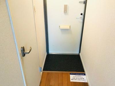 【玄関】レオパレスグリーンハイツC