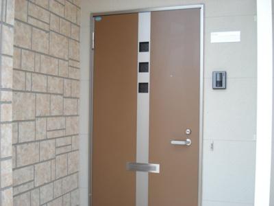 リードフック付玄関