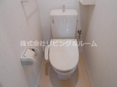 【トイレ】レジデンス オオギ・Ⅴ棟