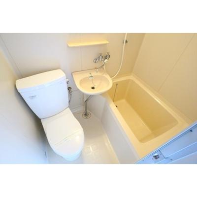 【浴室】ホワイトコーポクサマ